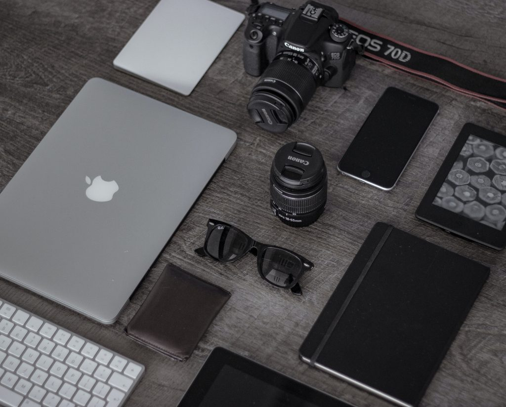 Gadgets and electronics.
