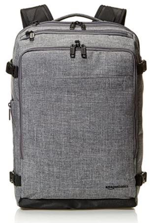 AmazonBasics Slim Travel Backpack