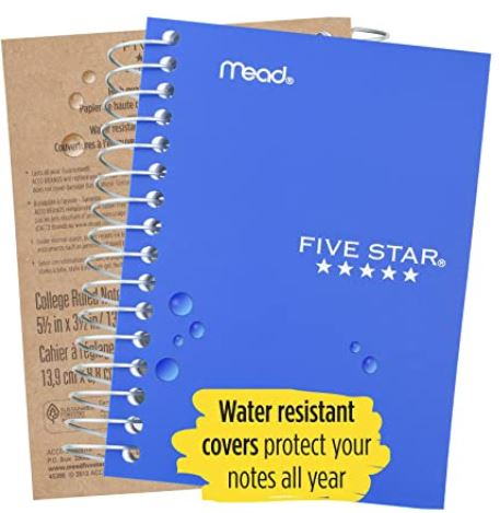 Five Star Fat Lil' Pocket Personal Notebook